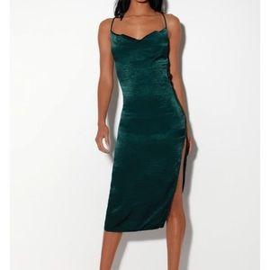 Slinky Midi Dress
